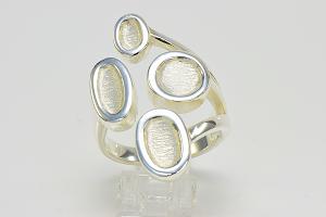 Design Silberring Schatzinsel Niederrhein